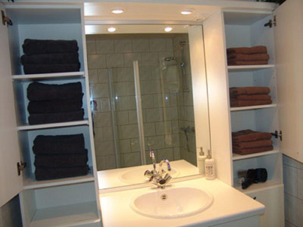 Bad/-handdoeken, zeep en haardroger aanwezig..