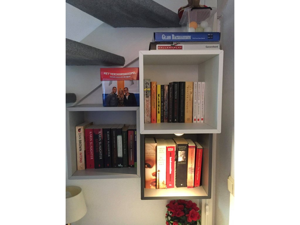 kleine bibliotheek, incl spelletjes