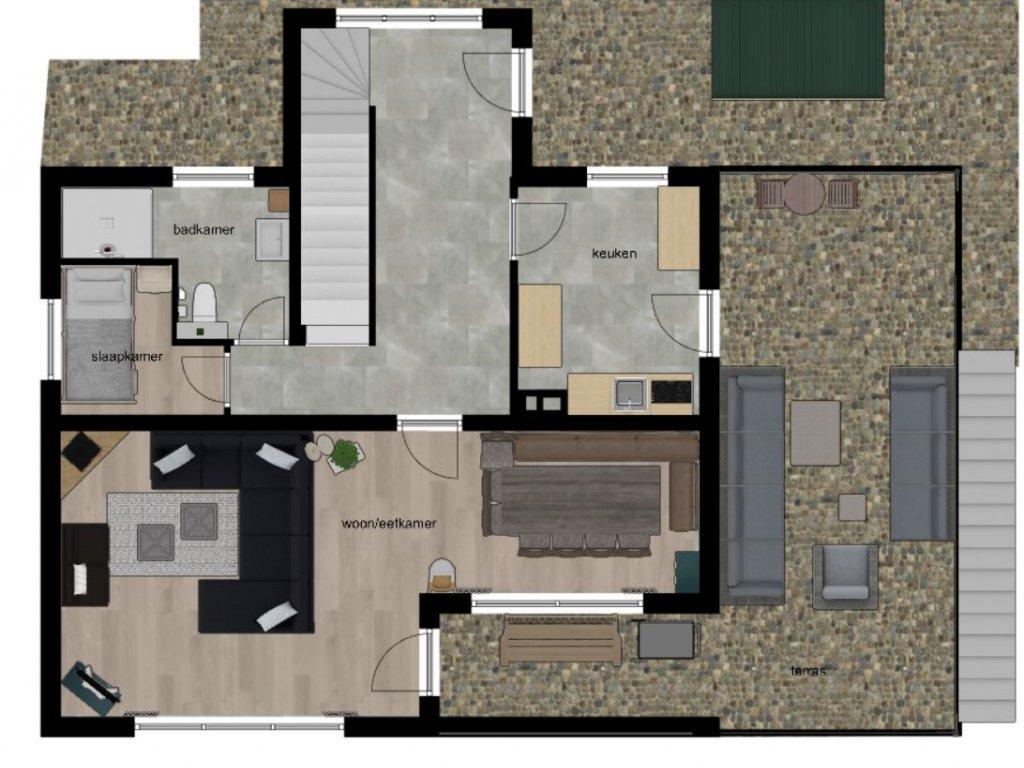 plattegrond 1ste verdieping